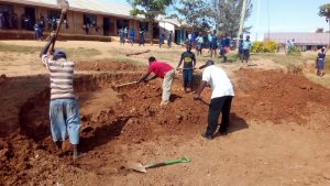 The Water Project:  Clearing Ground For Tank