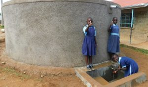 The Water Project:  Girls Collecting Water
