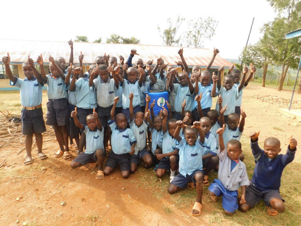 The Water Project : kenya18043-horray-for-handwashing