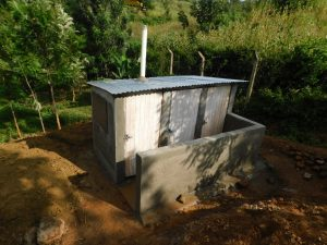 The Water Project:  New Latrine