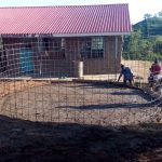 The Water Project: Kenneth Marende Primary School -  Wire Mesh For Tank Walls
