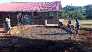 The Water Project:  Wire Mesh For Tank Walls