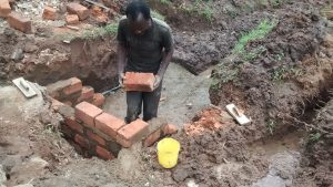 The Water Project:  Laying Brick At The Spring