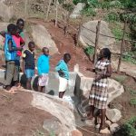 The Water Project: Chandolo Community, Joseph Ingara Spring -  Learning About Caring For Spring