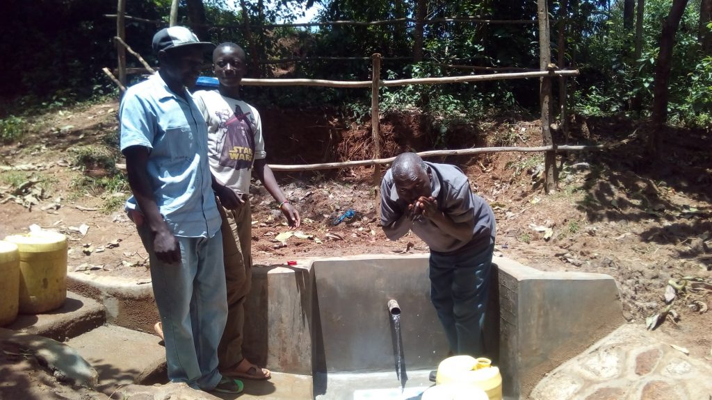 The Water Project : kenya18098-drinking-safe-clean-water