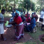 The Water Project: Wasenje Community, Margaret Jumba Spring -  Handwashing Training