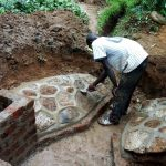 The Water Project: Wasenje Community -  Paving At Spring
