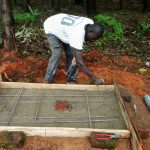 The Water Project: Wasenje Community -  Preparing New Latrine Platform