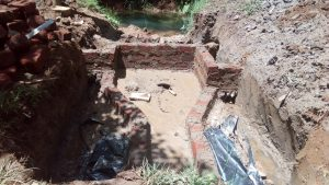The Water Project:  Spring Ready For Concrete