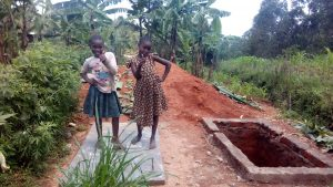 The Water Project:  Strike A Pose On New Latrine Platform