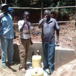 The Water Project: Wasenje Community, Margaret Jumba Spring -  Thumbs Up