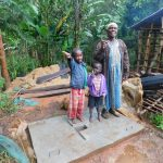 The Water Project: Shiru Community, Sammy Alumola Spring -  New Latrine Platform