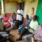 The Water Project: Shiru Community, Sammy Alumola Spring -  Training Discussion