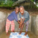The Water Project: Shiru Community, Sammy Alumola Spring -  Water Flowing
