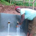 The Water Project: Emwanya Community, Josam Kutsuru Spring -  All Smiles For Clean Water