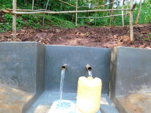 The Water Project:  Clean Water Flows Into Jerrican