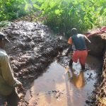 The Water Project: Emwanya Community, Josam Kutsuru Spring -  Spring Excavation