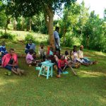 The Water Project: Emwanya Community, Josam Kutsuru Spring -  Training