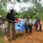 The Water Project: Jivovoli Community -  Community Members Participate In Training