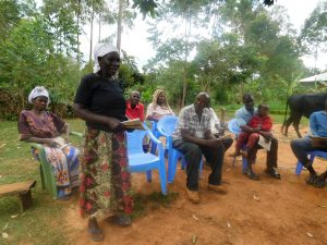 The Water Project:  Community Members Participate In Training