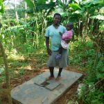 The Water Project: Jivovoli Community -  New Latrine Platform