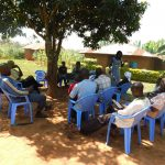 The Water Project: Jivovoli Community -  People Listening During Training