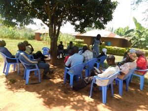 The Water Project:  People Listening During Training