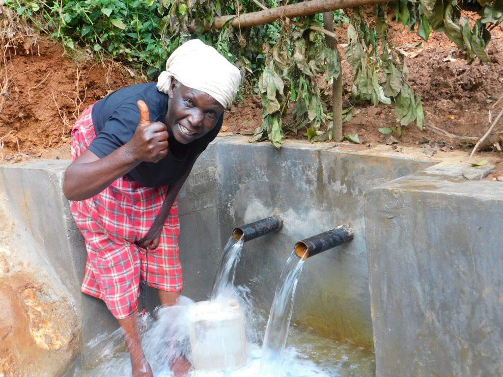 The Water Project : kenya18104-thumbs-up
