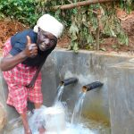 The Water Project: Jivovoli Community -  Thumbs Up