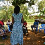 The Water Project: Jivovoli Community -  Trainer Leads Discussion