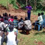 The Water Project: Jivovoli Community, Gideon Asonga Spring -  Listening During Training