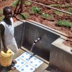 The Water Project: Jivovoli Community, Gideon Asonga Spring -  Posing At The Spring
