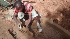 The Water Project:  Cementing Bricks