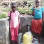 The Water Project: Ingavira Community, Laban Mwanzo Spring -  Thumbs Up