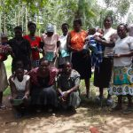 The Water Project: Masera Community -  Community Members Pose After Training