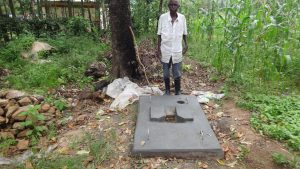 The Water Project:  Posing With New Sanitation Platform