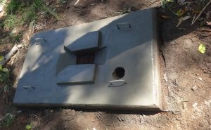 The Water Project:  Sanitation Platform Dries
