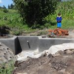 The Water Project: Masera Community, Ernest Mumbo Spring -  Spring Nearly Done