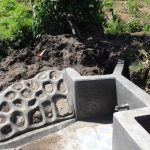 The Water Project: Masera Community -  Spring Protection Nearly Complete