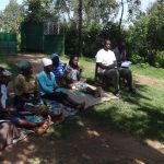 The Water Project: Masera Community, Salim Hassan Spring -  Community Training