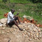 The Water Project: Masera Community A -  Gathered Materials For Spring Protection