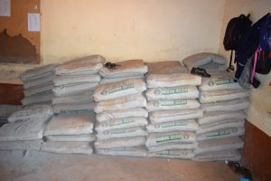 The Water Project:  Cement For Tank Construction
