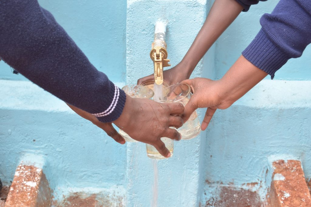 The Water Project : kenya18230-filling-up-water