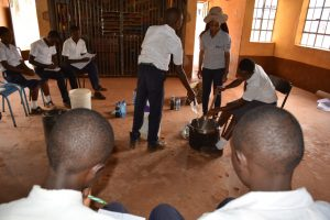 The Water Project:  Learning To Make Soap