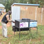 The Water Project: Mbuuni Secondary School -  New Handwashing Station