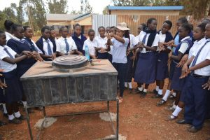 The Water Project:  Students Learn About Handwashing