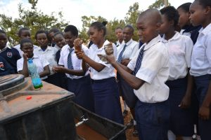 The Water Project:  Students Partipate In Handwashing