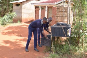 The Water Project:  Using New Handwashing Stations