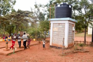 The Water Project:  Borehole System