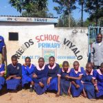 The Water Project: Viyalo Primary School -  Students At Gate